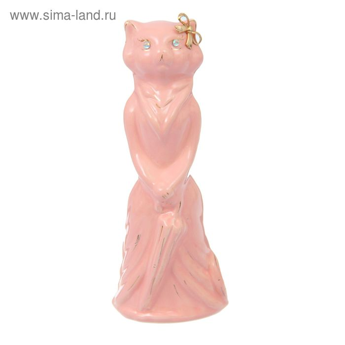 """Копилка """"Барышня"""" малая, глазурь, розовая"""