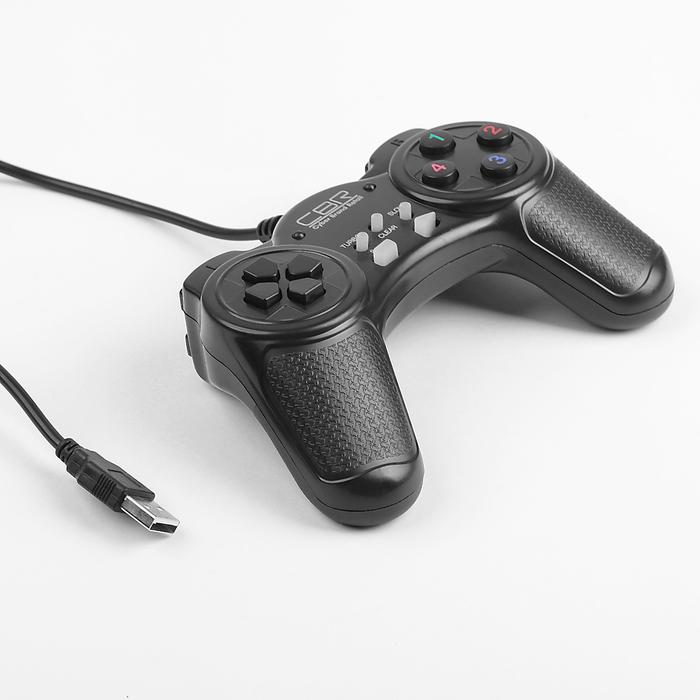 Игровой джойстик CBR CBG 907 для PC, проводной, USB
