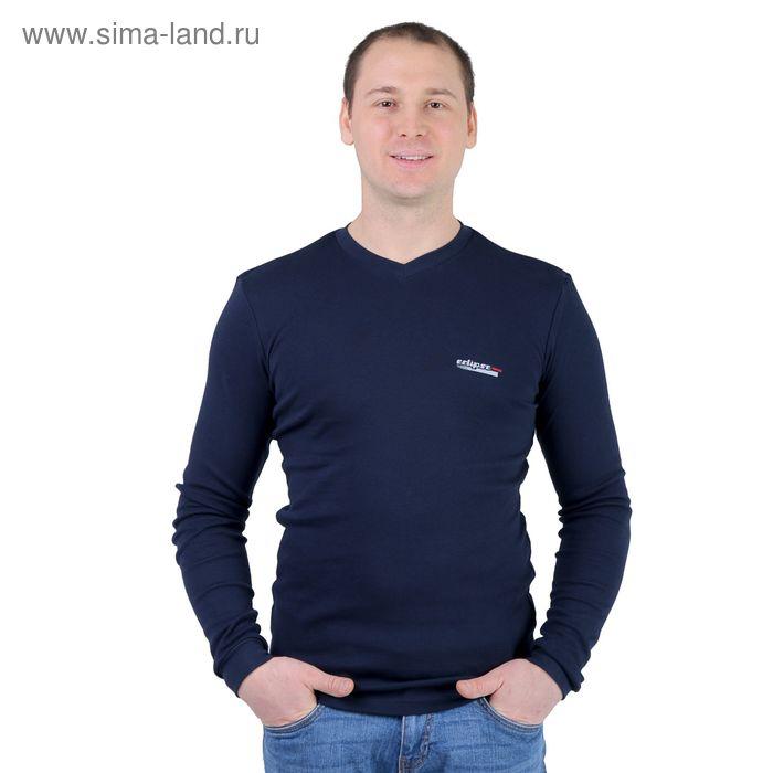 Джемпер мужской Р817128 темно-синий, рост 182-188 см, р-р 44