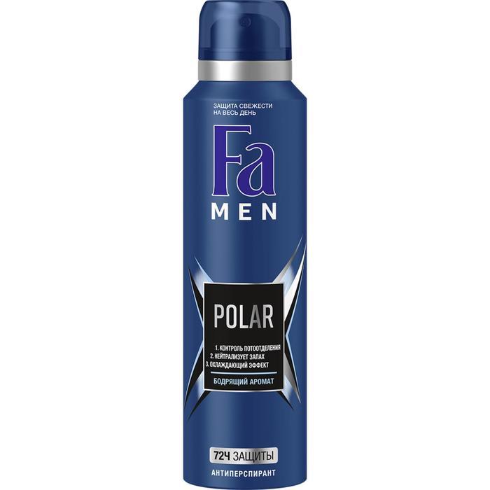Дезодорант-антиперспирант Fa MEN Xtreme Polar , аэрозоль, 150 мл