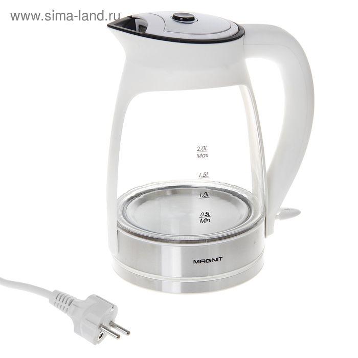 Чайник электрический Magnit RMK-1002W, 2 л, 2200 Вт