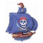 """Шар фольгированный 30"""" """"Корабль пиратский"""", цвет синий"""