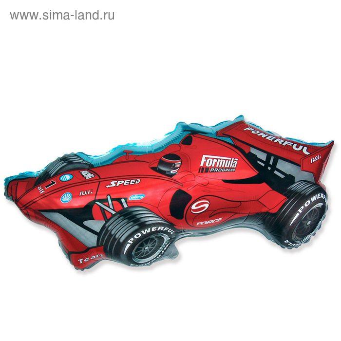 """Шар фольгированный 30"""" """"Машина гоночная"""", цвет красный"""