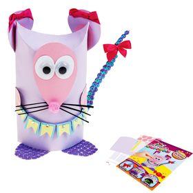 """Игрушка-сюрприз из бумаги своими руками """"Мышка"""" + декор"""