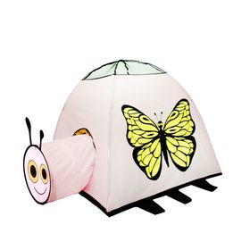 """Палатка детская игровая """"Бабочка"""" с туннелем"""