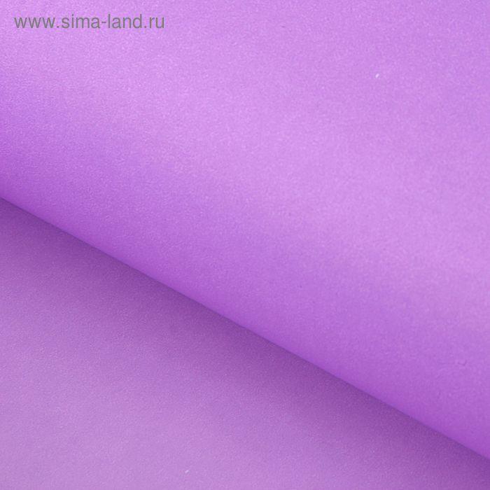 """Бумага упаковочная крафт """"Полоска"""" лак сиреневый 70 х 100 см,  6 шт"""
