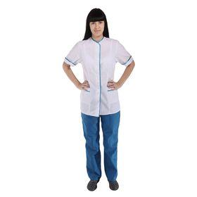 Костюм медицинский женский, короткий рукав, размер 48-50, рост 170-176 см Ош