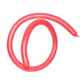 Шар для моделирования 160, пастель, набор 100 шт., цвет красный