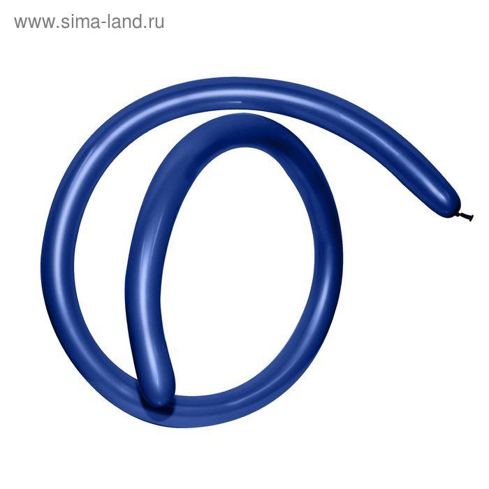 Шар для моделирования 160, пастель, набор 100 шт., цвет синий