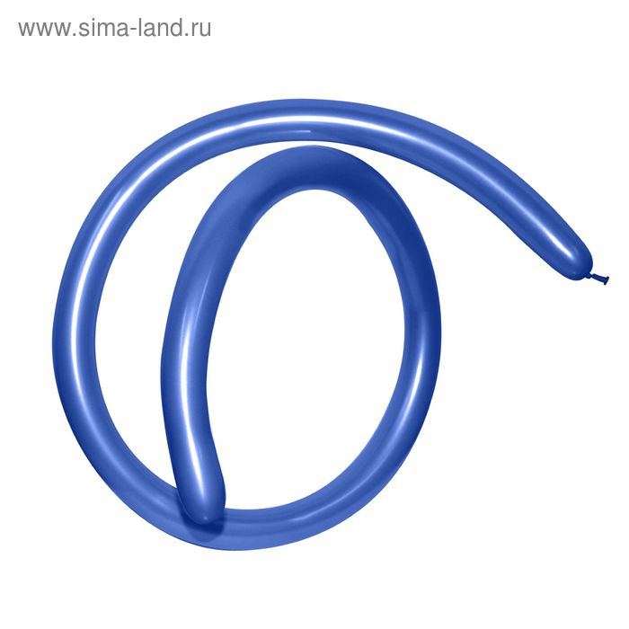 Шар для моделирования 160, металл, набор 100 шт., цвет синий