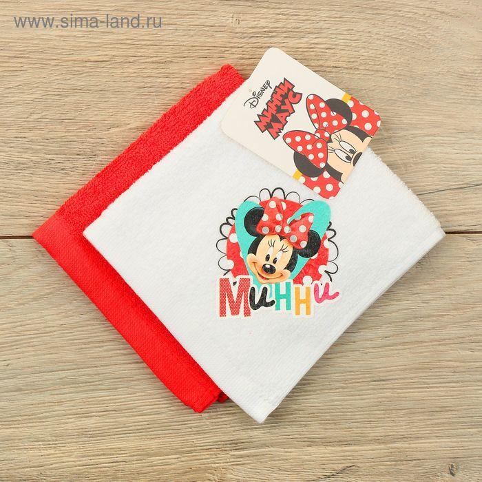Набор махровых полотенец - 2 шт, Минни Маус