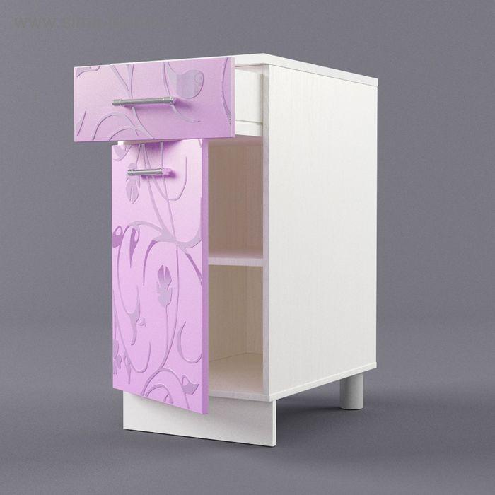 Шкаф напольный 850*400*600 Ирис