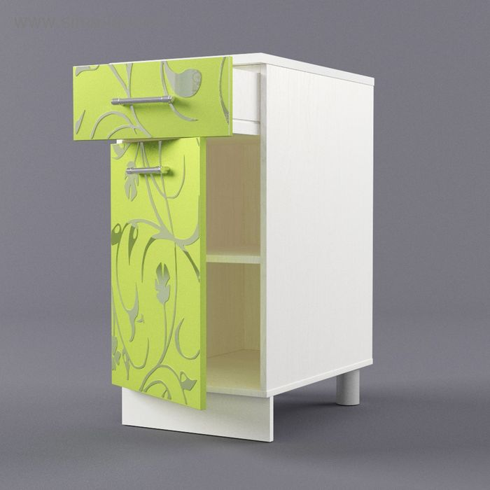 Шкаф напольный 850*400*600 Лайм