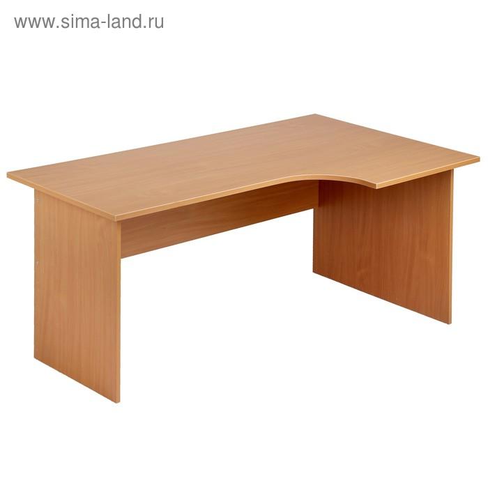 Стол письменный 1400*850*750 левый бук бавария