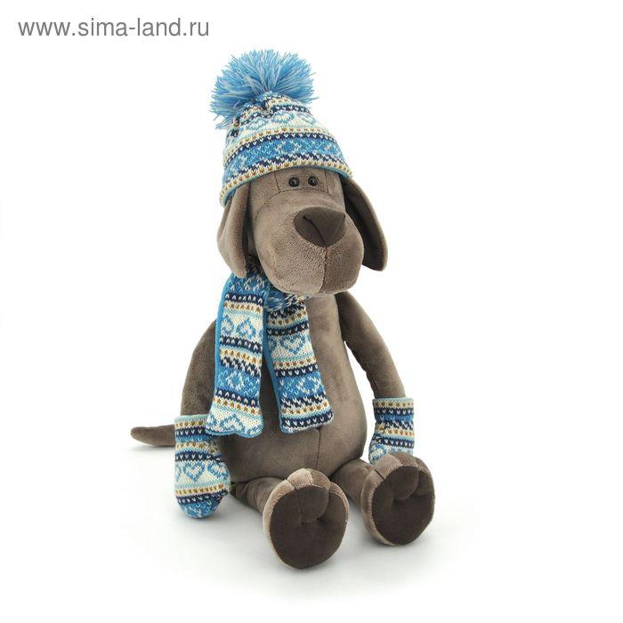 Мягкая игрушка «Пёс Барбоська в шапочке»