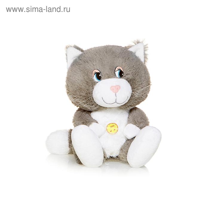 Мягкая музыкальная игрушка «Кот Вася»