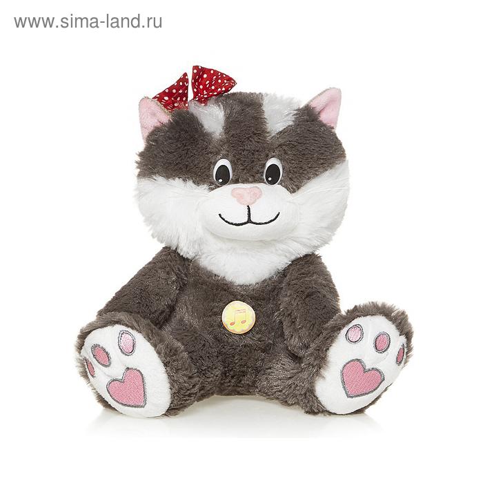 Мягкая музыкальная игрушка «Кошечка Мила»