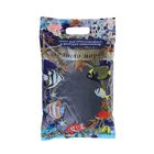 """Песок для аквариума,черный """"Золото морей"""",0,3-0,5 мм, 3,5 кг"""