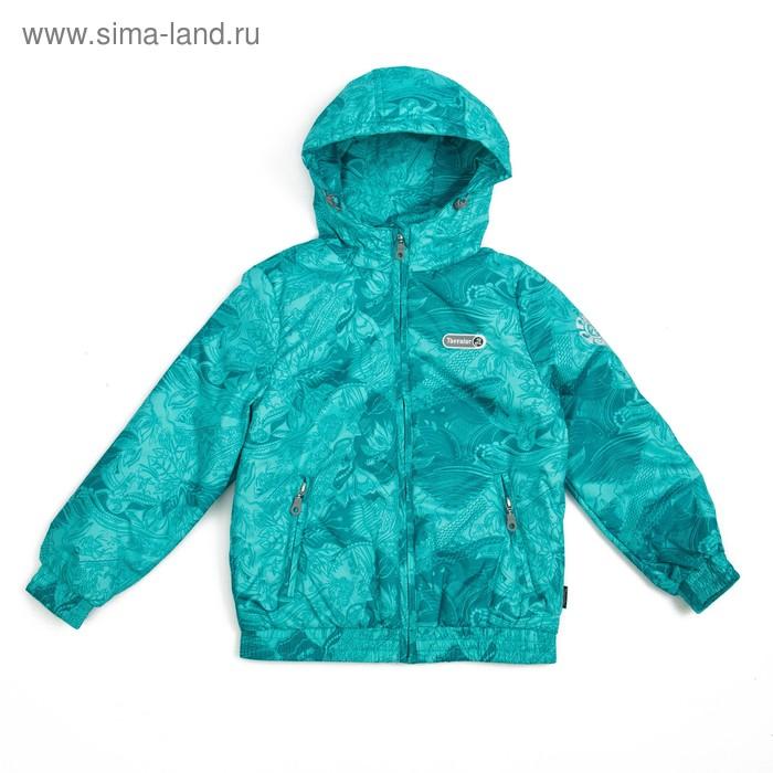 Куртка для девочки, рост 140-146 см (76), цвет голубой ТФ 32008/1 ТР