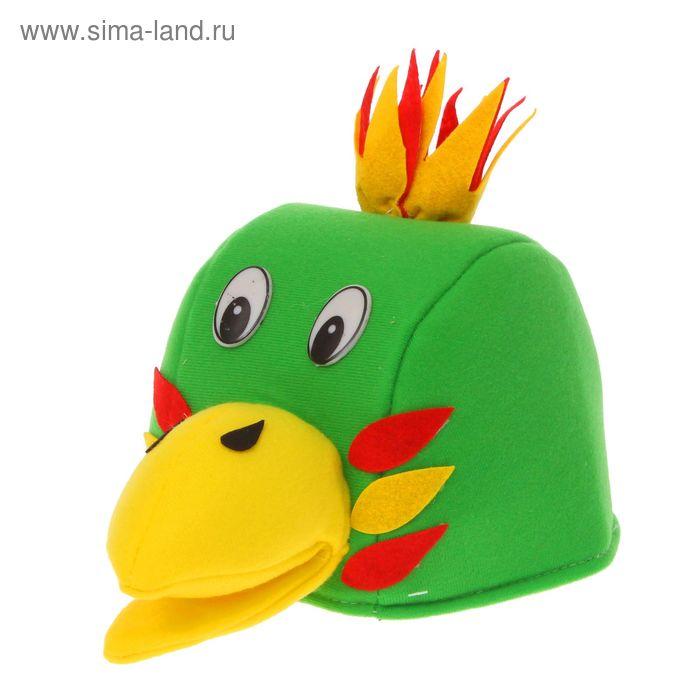 """Карнавальная шляпа """"Чудо-птица"""""""