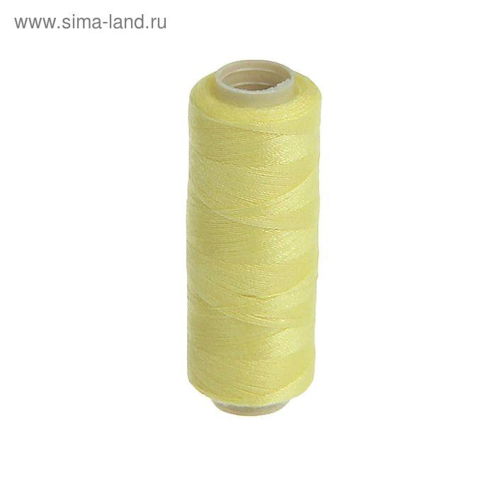 Нитки 40/2, 200м, №378, жёлтый