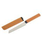 Нож нескладной в ножнах, 21 см, бежевый