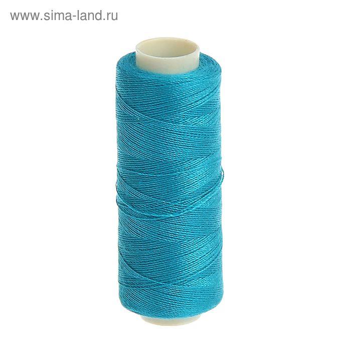 Нитки 40/2, 200м, №260, сине-зелёный