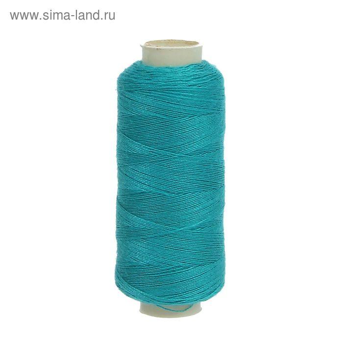 Нитки 40/2, 200м, №241, сине-зелёный