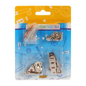 Набор швейной фурнитуры: застёжки, кнопки, крючки