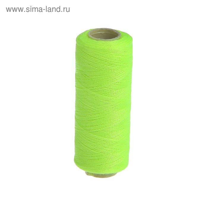 Нитки 40/2, 200м, №201, неон зелёный
