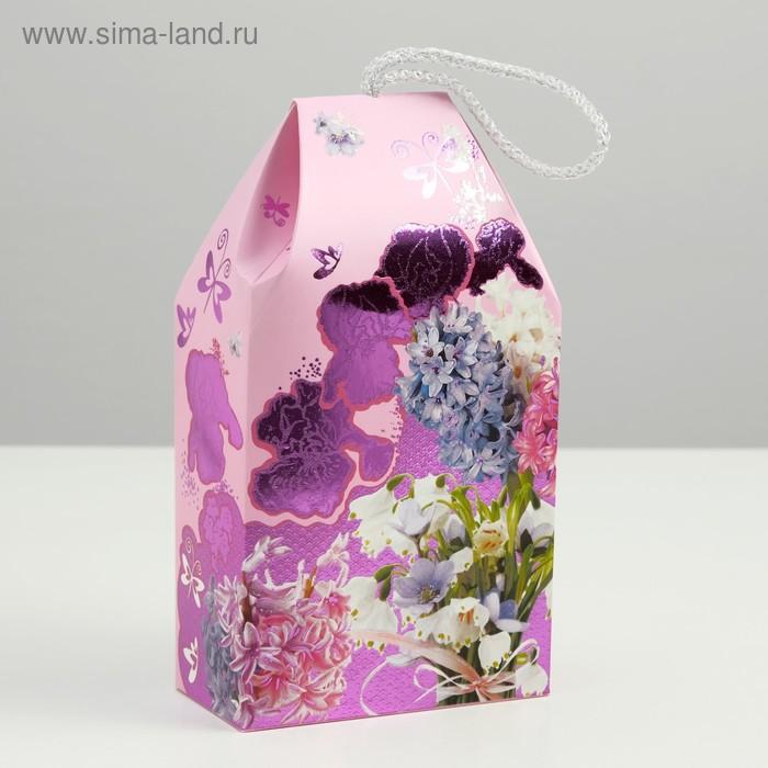 "Подарочная коробка ""Сладкая фантазия"", сборная, 19,5 х 11 х 5,5 см"