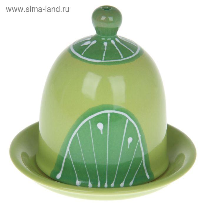 """Подставка """"Под лимон"""", цвет зеленый"""