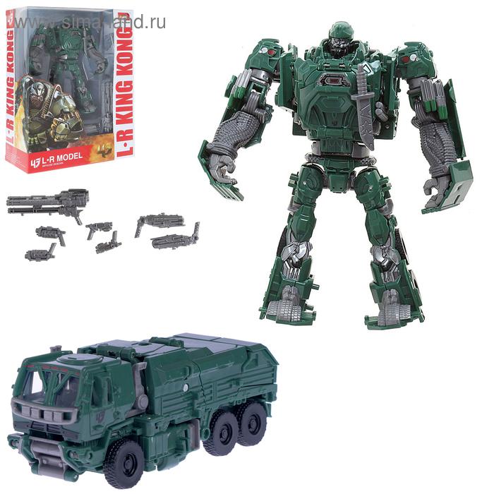 """Робот-трансформер """"Военный грузовик"""""""