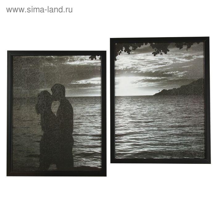 """Картина модульная """"Поцелуй"""" 50х70 см"""