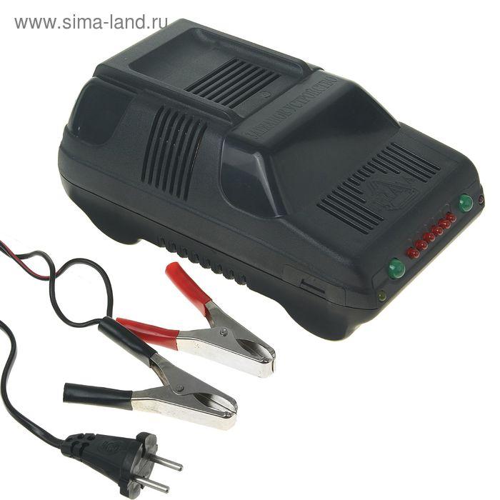 """Зарядное устройство для АКБ """"Триада-10"""", 6 А, до 90 Ач, 12 В, с индикацией окончания заряда   128501"""