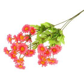 """Цветы искусственные """"Ромашка полевая"""" розовая"""