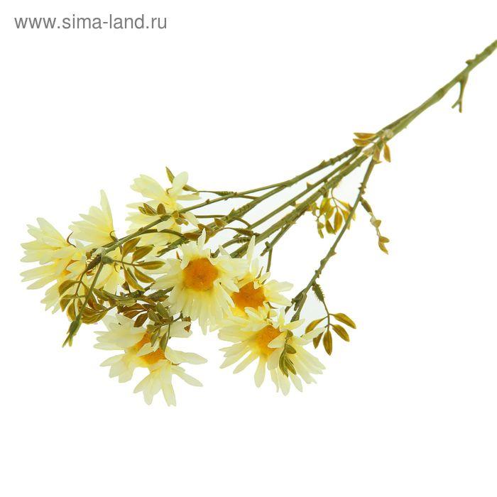 """Цветы искусственные """"Ромашка Пиретрум"""" белая"""