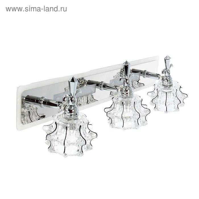 "Спот настенный LED ""Вилена"" 3 плафона (18 ламп), планшет (52 лампы)"