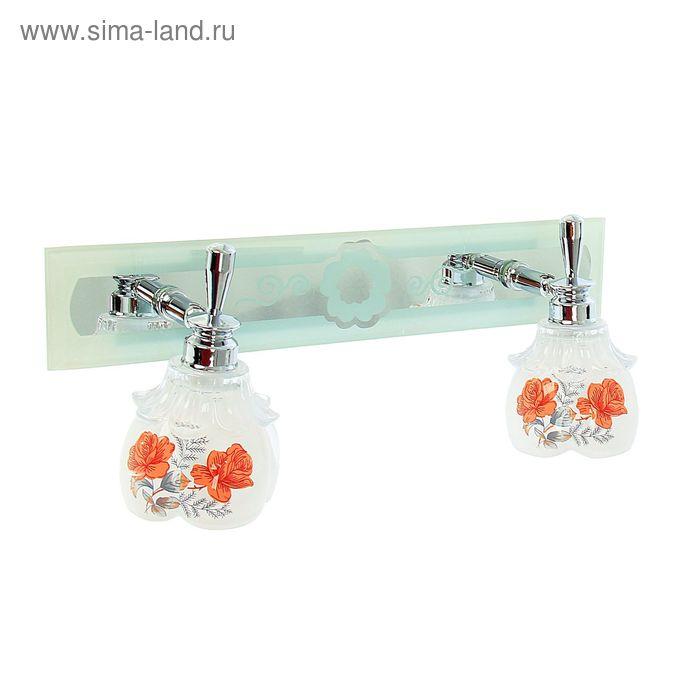 "Спот настенный LED ""Роза"" 2 плафона (12 ламп)"