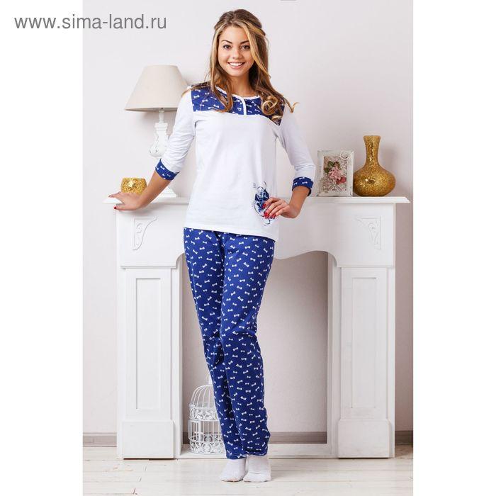 Комплект женский (фуфайка, брюки) 8303, р-р 52 кулирка