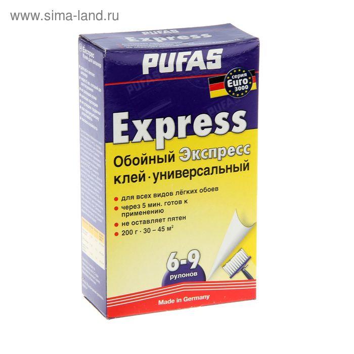 Клей обойный Pufas, экспресс, быстрорастворимый, 200 г
