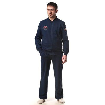 Костюм мужской (куртка+брюки) М-250-05 темно-синий, р-р 50