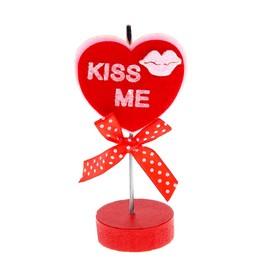 Визитница - прищепка 'Сердце - поцелуй' Ош