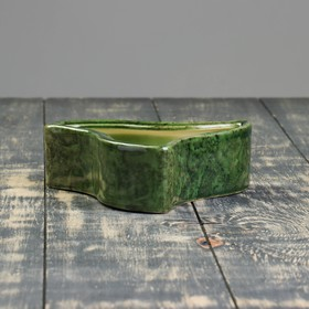 "Кашпо ""Медуза"" зелёное 0,57 л"