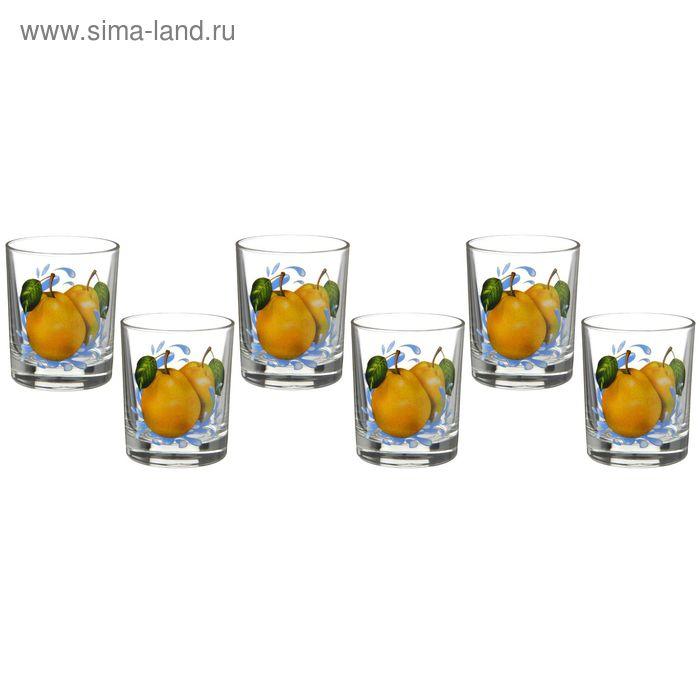 "Набор стаканов 6 шт 250 мл ""Груша"""