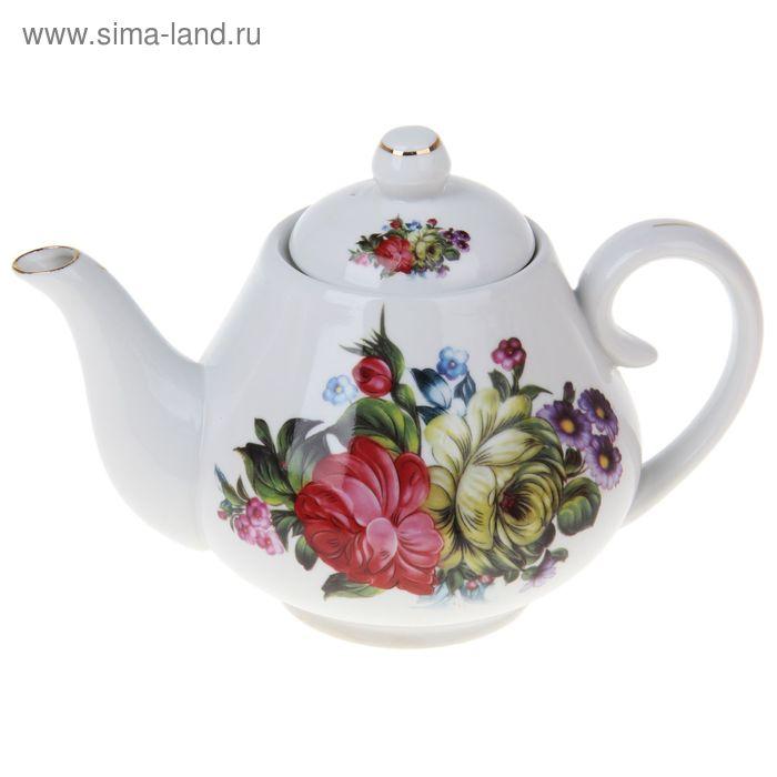 "Чайник заварочный 900 мл ""Цветочный парк"""