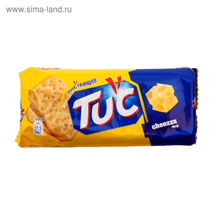 Крекер TUK, с сыром, 100 г