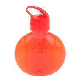 Фляжка-бутылка круглая, 650 мл, красная Ош