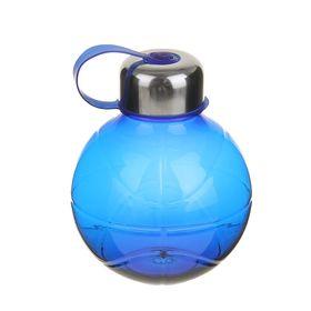 Фляжка-бутылка «Сфера», 600 мл, синяя Ош