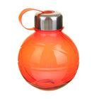 Фляжка-бутылка «Сфера», 600 мл, красная